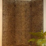 Rattan Three Folds Screen - 5c rtn 072