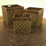 Basket Rattan with Wood Frame – 5c-rtn-079