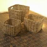 Square Rattan Basket - 5c-rtn-081