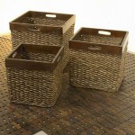Basket Rattan with Wood Frame – 5c-rtn-085