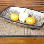 Pattern Fruit Platter - 5c tkt 091