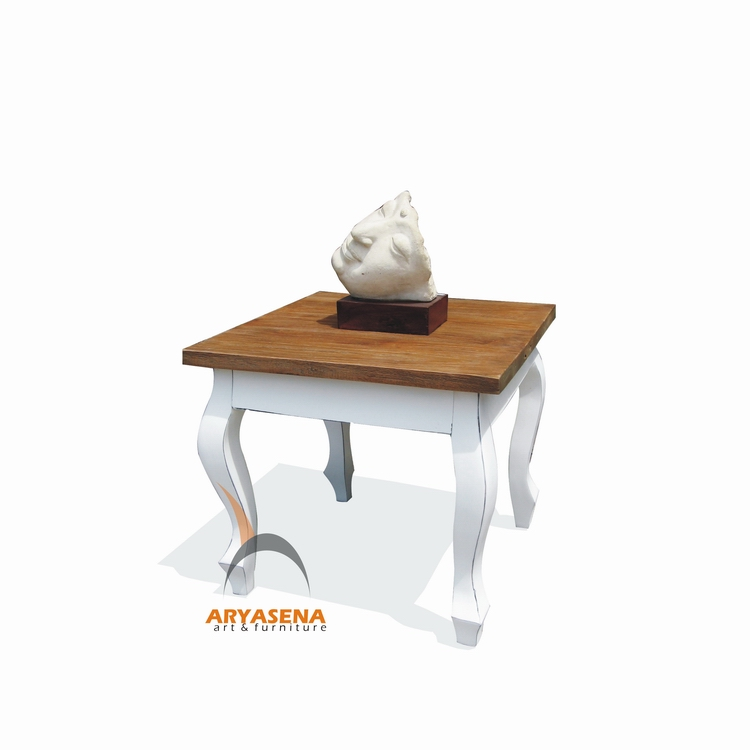 End Table Knock Down From Teak Wood Furniture