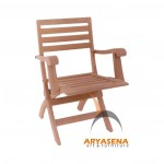 Welsh Folding Arm Chair - GFCH 032