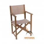 Director Teak Canvas Chair - GFCH 037