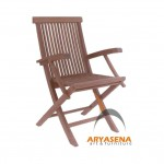 Finger Folding Arm Chair - GFCH 043