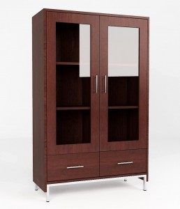 KRBR 05 - Double Glass Cabinet