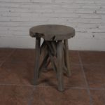 Stool with 4 Legs Cross - TWST 03-IG