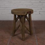 Stool with 4 Legs Cross - TWST 03-T12