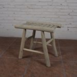 Stool with 4 Legs Slat - TWST 05-IG