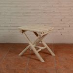 Stool with 4 Legs Cross - TWST 06-B