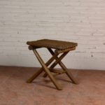 Stool with 4 Legs Cross - TWST 06-T12