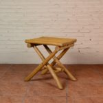 Stool with 4 Legs Cross - TWST 06-TP