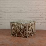 Coffee Table Twigs with Glass Top - TWST 08-T01 Glass Top