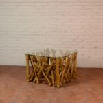 Coffee Table Twigs with Glass Top - TWST 08-TP Glass Top
