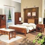 Triple Line Bedroom