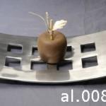 Aluminium Curve Tableware - al.008.tt