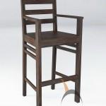 Merbabu Bar Chair with Arm - MBDR 06