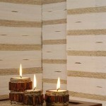 Circle Candle Set of 3 from Rattan - 5C RTN 061