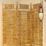 Bamboo Three Folds Screen - 5c bmb 059