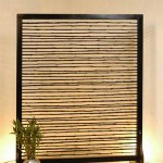 Bamboo Vertical Screen - 5c bmb 063