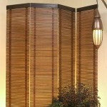 Wooden Four Folds Screen - 5c kyu 136
