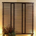 Wooden Screen with Buffers - 5c kyu 137