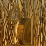 Wooden Semi Circle Lighting - 5c kyu 178