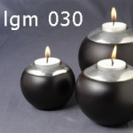 Candle Ball Set of 3 - 5c lgm 030