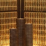 Circle Candle Tall Set of 3 - 5c rtn 006