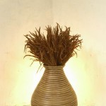 Rattan Barrel Tableware - 5c rtn 035