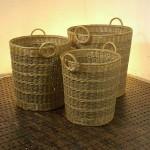 Round Rattan Basket - 5c-rtn-065