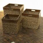 Basket Rattan with Wood Frame – 5c-rtn-085