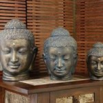 Head Buddha Statue - 5c tkt 045