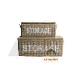 Nowra Storage Box Set of 2 - AL BS 09