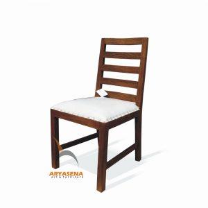 ASN 08 - Assen Dining Chair with Cushion - Teak Rustic 46x53x90