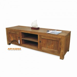 ASN 13 - Assen TV table - Teak Rustic 200x40x50