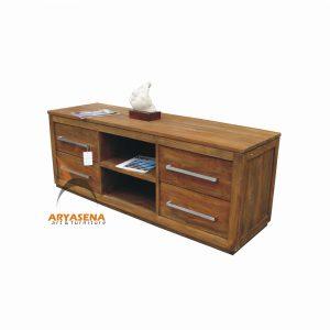 ASN 14 - Assen TV Table  - Teak Rustic150x45x57