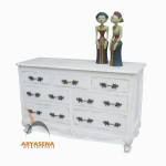 French Buffer 7 Drawers - CFF 07