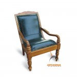 Turned Leg Colonial Chair - JSCH 008