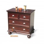 French Chest of 4 Drawers - JSDW 048