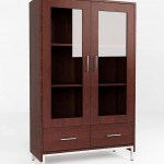 Double Glass Cabinet - KRBR 05