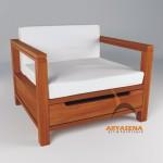 Sofa 1 Seater - MULR 08A