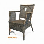 Rattan Chair with Arm - SKR 03