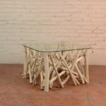 Coffee Table Twigs with Glass Top - TWST 08-B Glass Top