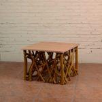Coffee Table Twigs with Miindi Top - TWST 08-TP Mindi Top