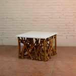 Coffee Table Twigs with White Top - TWST 08-TP White Top