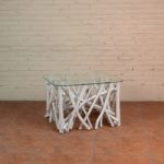 Coffee Table Twigs with Glass Top - TWST 08-W Glass Top