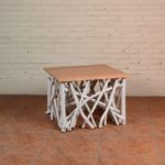 Coffee Table Twigs with Mindi Top - TWST 08-W Mindi Top
