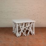 Coffee Table Twigs with White Top - TWST 08-W White Top
