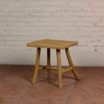 Stool with 4 Legs Bend and Cross - TWST 14-TP